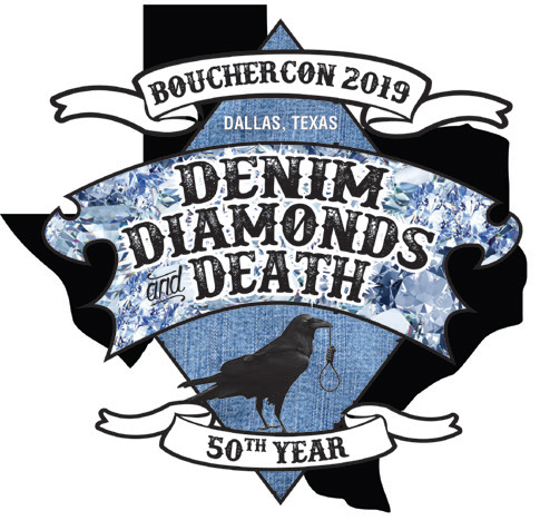 Bouchercon Dallas logo