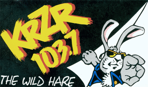 Hare Bumpersticker on White
